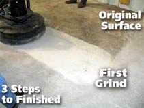 grinding concrete for repairs in Kansas City and St. Louis