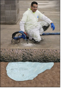 Commercial Floor Concrete Repair