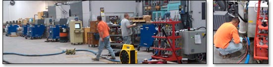Industrial floor repair and concrete leveling in Kansas City and St. Louis