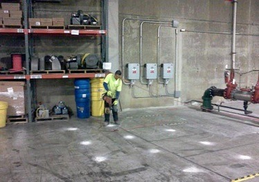 sports arena concrete repair Kansas City