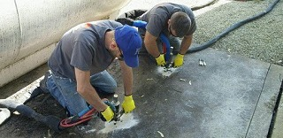 filling voids with polyurethane foam in Kansas City and St. Louis