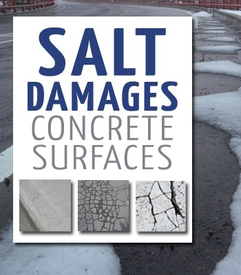 salt damages concrete