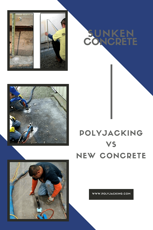 polyjacking vs new concrete