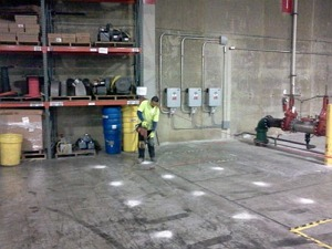 sports arena concrete repair