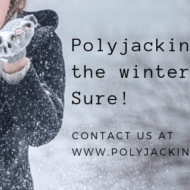 polyjacking in the winter