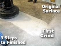 Concrete crazing repair in St. Louis and Kansas City by PFT